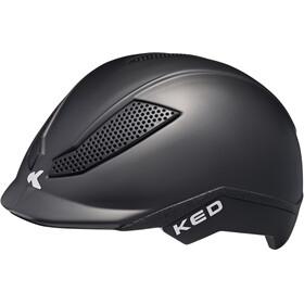 KED Pina Helmet Kids Black Matt